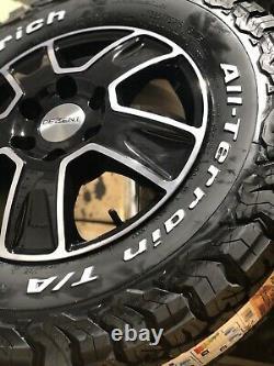 16 Mercedes Sprinter Alloy Wheels Bfg All Terrain Tyres 6x130 Vw Crafter Gloss