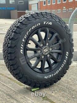 16 Mercedes Sprinter Volkswagen Crafter Msw 48 Alloy Wheels And Bfg All Terrain