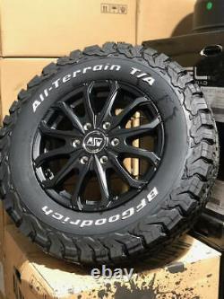 16 Vw Crafter Alloy Wheels Bfg All Terrain Tyres 6x130 Mercedes Sprinter