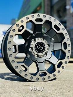 17 Black Rhino Warlord Mercedes Sprinter Volkswagen Crafter Alloy Wheels & Tyre