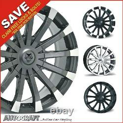 20 Renaissance Alloy Wheels + Tyres Vw Crafter / Mercedes Sprinter Load Rated
