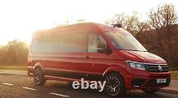 20 Wolfrace Evoke X Load Rated Alloy Wheels Fit Mercedes Sprinter Vw Crafter