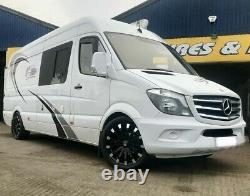 20 Wolfrace Renaissance Load Rated Alloy Wheels Vw Crafter & Mercedes Sprinter