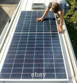 400W Solar Panel Campervan Mercedes Sprinter & VW Crafter Camper Off-Grid