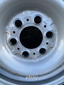 4x Genuine Mercedes Sprinter 16 steel wheels & Tyres 6.5x 16 Inch VW Crafter