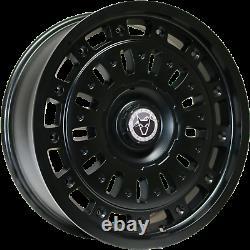 6 Stud Vw Crafter Alloys 18 Mercedes Sprinter Wheels + Tyres+ Grabber At3 S