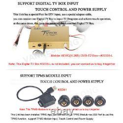 7Android 9.0 DAB Autoradio GPS DVD SatNav für Mercedes Sprinter Vito VW Crafter