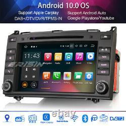 8DAB+Car Stereo Radio for Mercedes A/B-Class Viano Sprinter Android 10 Carplay