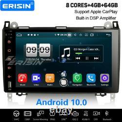 8-Kern Android 10.0 CarPlay Autoradio DSP Navi Mercedes Benz A/B Klasse Crafter