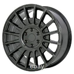 8x18 JBW TMS GLOSS BLACK ALLOY WHEELS+TYRES FITS 6 STUD VW CRAFTER SET 4
