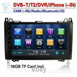 9Head Unit DAB+Radio GPS SAT NAVi for Mercedes Sprinter A-Class W169 Viano Vito