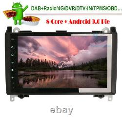 9 Android 9.0 Head Unit GPS Sat Nav Bluetooth DAB Radio Stereo for VW Crafter
