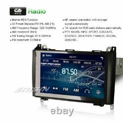 9 Autoradio GPS Navi DTV 3G SWC Mercedes A/B Klasse Sprinter Vito Viano Crafter