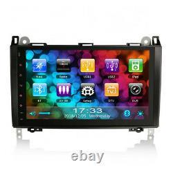 9 BT GPS Sat Nav Car Radio Player Stereo For VW Crafter Mercedes Sprinter W639