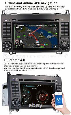 CAR DVD STEREO NAVI DAB+ MERCEDES-BENZ Sprinter W906 Viano&Vito W639 EU MAP RDS