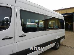 Clear Windows for Mercedes Sprinter VW Crafter including Fitting Service Window