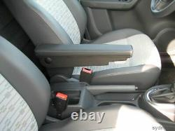 Comfort Armlehne lang Stoff schwarz Mercedes Sprinter III + VW Crafter