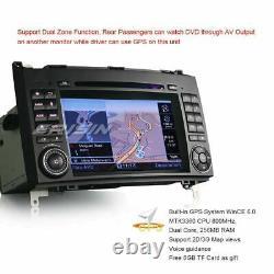 DAB+ Autoradio GPS NAVI Mercedes Benz A/B Class W169 Sprinter Vito VW Crafter BT