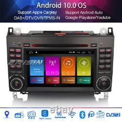 DAB+Car Stereo Mercedes A/B-Class Viano Vito Sprinter W639 Android 10.0 Carplay