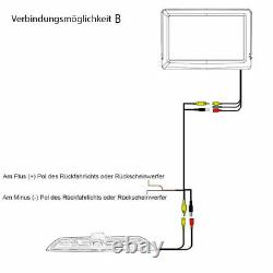 Digital Kabellose Rückfahrkamera für Mercedes Sprinter & VW Crafter Sony Chipset