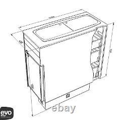 EVO Mercedes Sprinter or VW Crafter 20112017 Side door kitchen pod