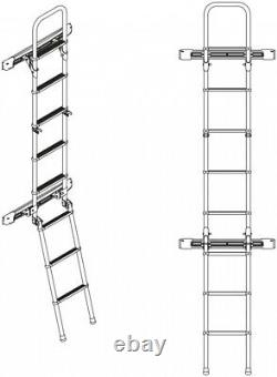 Fiamma Deluxe Exterior Ladder for Mercedes Sprinter and VW Crafter Vans