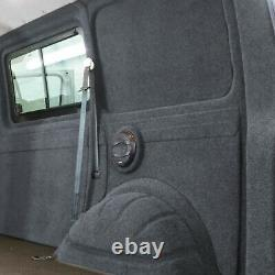 Innenverkleidung Verkleidung Filz Vlies Dunkelgrau 10x2m passend für VW T6 T5 T4