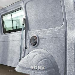 Innenverkleidung Verkleidung Filz Vlies Silber 6x2m passend für VW T6 T5 T4