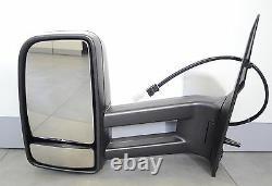 MERCEDES SPRINTER 906 VW CRAFTER 06- Außenspiegel Manual Spiegel Links Lange Arm