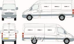 Mercedes Sprinter 07+ / VW Crafter 07-17 Left & Right Hand Fixed Windows