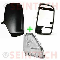 Mercedes Sprinter Door Wing Mirror Inner Frame/Back Cover Casing/Indicator O/S