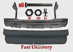 Mercedes Sprinter Rear Bumper Step Metal + Bracket + Plastic Cover + Fitting