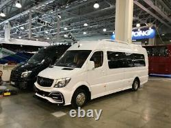Mercedes Sprinter VW CRAFTER Tuning Side Skirts W906 ABS plastic