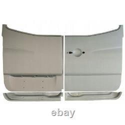 Mercedes Sprinter VW Crafter 2006- 4x Hinten Tür Reparaturblech / Außen + Innen