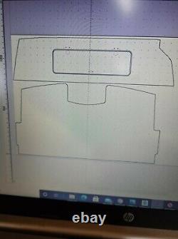 Mercedes Sprinter / VW Crafter Camper Headliner Cab Shelf and Face Plate CNC CUT