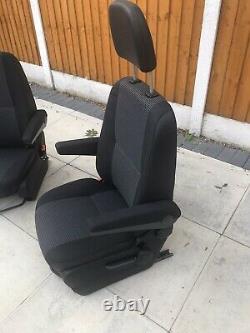 Mercedes Sprinter / VW Crafter Front Driver & Passenger SEATS Lima Cloth 06-2017