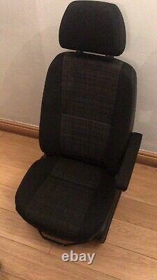 Mercedes Sprinter VW Crafter Front Driver Seat With NEW Armrest 2017 06-17