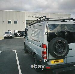 Mercedes Sprinter/VW Crafter Rear Door Spare Wheel Carrier 4x4 2006-2018
