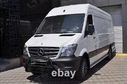 Mercedes Sprinter Vw Crafter Axle Black Nudge A-bar, Bull Bar Guard 2014-2018
