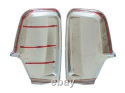Mirror Wing Cover Right + Left Chrome Set For Mercedes Sprinter Vw Crafter 06