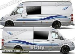 Motorhome Campervan 007 graphics stickers decals VW Crafter Mercedes Sprinter