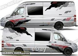 Motorhome Campervan 029 graphics stickers decals VW Crafter Mercedes Sprinter