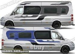 Motorhome Campervan 063 graphics stickers decal VW Crafter Mercedes Sprinter