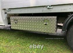 Mwb Mercedes Sprinter / Vw Crafter Alloy Dropside Body Toolbox Underbody Storage