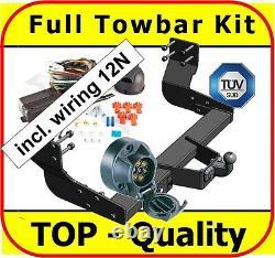 Towbar & Electric 7pin 12N Mercedes Sprinter W906 MWB LWB 2006 on