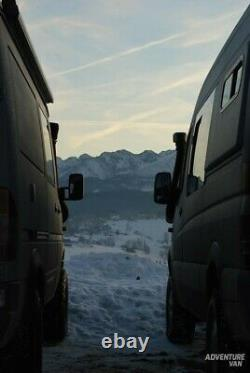 VW Crafter MERCEDES Sprinter Overlander Sleeping Pods LWB & MWB