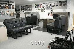 VW Crafter Mercedes Sprinter Driver (Single) Seat Swivel Plate Swivel Seat