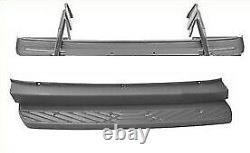 Vw Crafter & Mercedes Sprinter 2006-2018 Rear Step Cover Plastic + Metal Set
