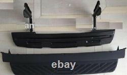 Vw Crafter & Mercedes Sprinter Rear Back Metal Step Plus Plastic Cover 2006-2017